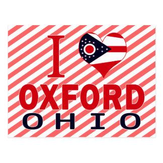 I love Oxford, Ohio Postcard