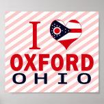I love Oxford, Ohio Print