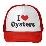 I Love Oysters Mesh Hat
