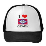 I Love OZARK Arkansas Trucker Hats