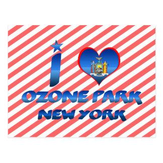 I love Ozone Park, New York Post Cards