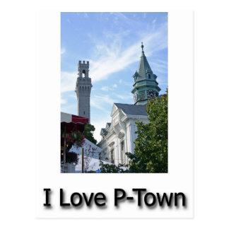 I Love P-Town Postcard