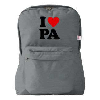 I LOVE PA BACKPACK