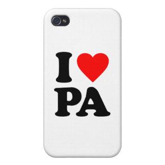 I LOVE PA iPhone 4 CASE