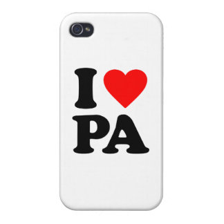 I LOVE PA iPhone 4/4S CASES