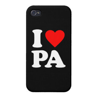 I LOVE PA iPhone 4/4S COVERS