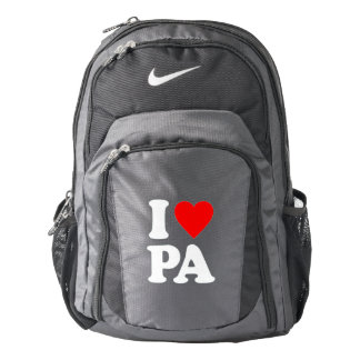 I LOVE PA NIKE BACKPACK