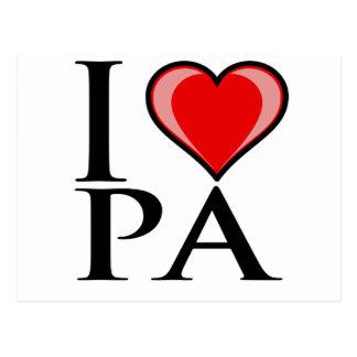 I Love PA - Pennsylvania Postcard