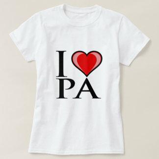 I Love PA - Pennsylvania T-Shirt