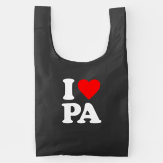 I LOVE PA REUSABLE BAG