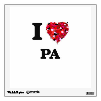 I Love Pa Wall Decals