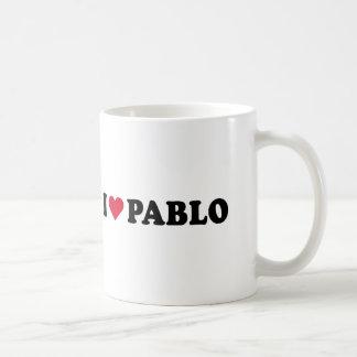 I LOVE PABLO COFFEE MUG