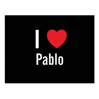 I love Pablo Postcard