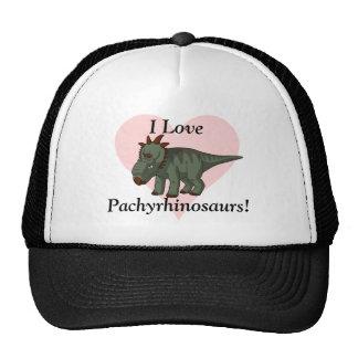 I Love Pachyrhinosaurs! Printed Trucker Hat