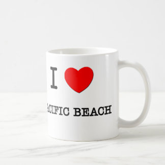I Love Pacific Beach California Coffee Mug