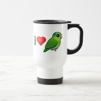 I Love Pacific Parrotlets (green) Coffee Mug