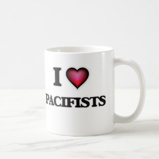 I Love Pacifists Coffee Mug