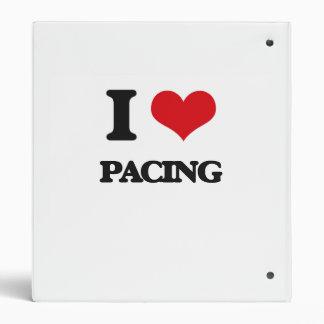 I Love Pacing 3 Ring Binders