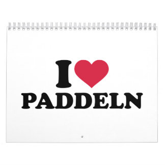 I love Paddeln Calendar