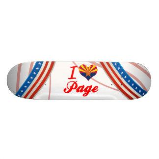 I Love Page, Arizona Skate Decks