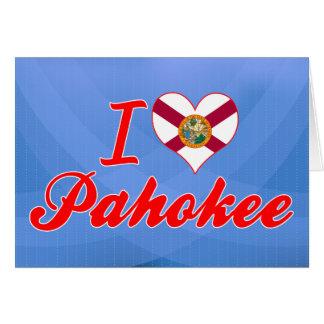 I Love Pahokee, Florida Greeting Card