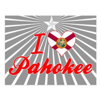 I Love Pahokee, Florida Postcard