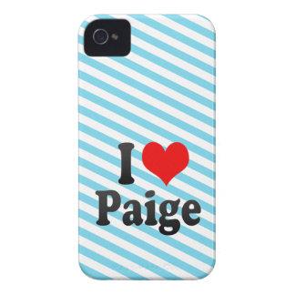 I love Paige Blackberry Cases