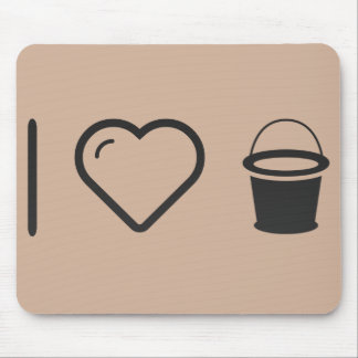 I Love Pail Waters Mouse Pad