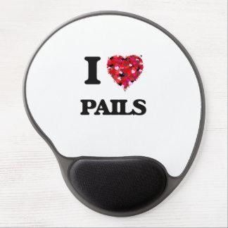 I Love Pails Gel Mouse Pad