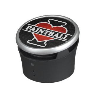 I Love Paintball Bluetooth Speaker