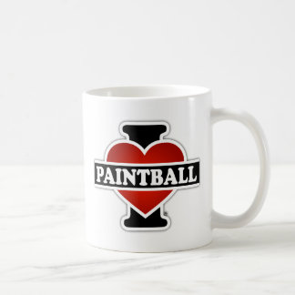I Love Paintball Coffee Mug