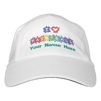 I Love Paintball Custom Name Headsweats Hat