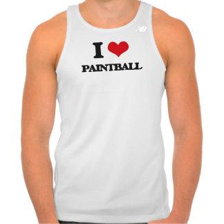 I love Paintball T Shirt