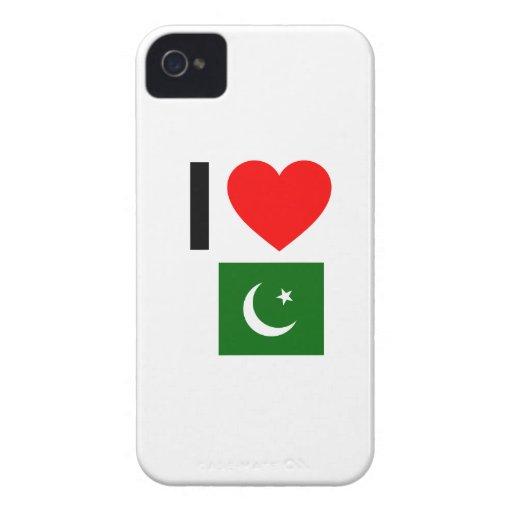 i love pakistan iPhone 4 Case-Mate case