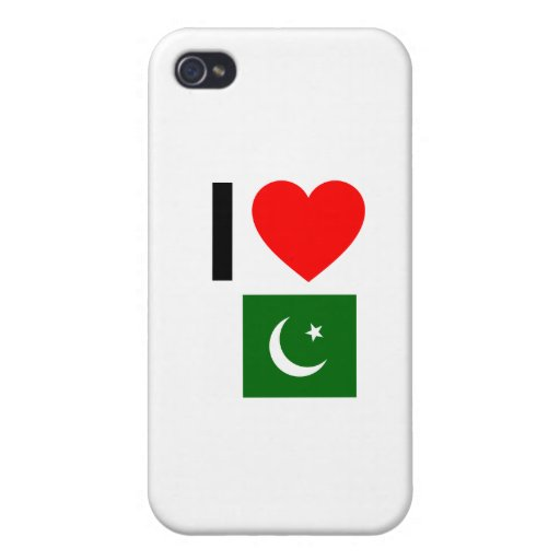 i love pakistan covers for iPhone 4