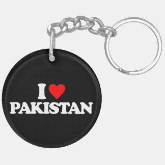 I LOVE PAKISTAN KEYCHAINS