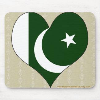 I Love Pakistan Mousepad
