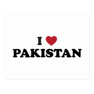 I Love Pakistan Postcard