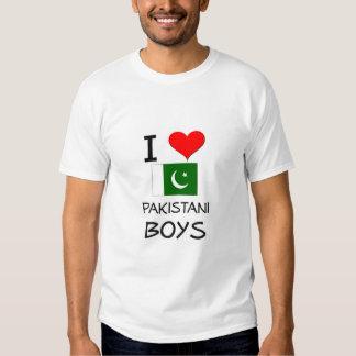 I Love Pakistani Boys T-shirt