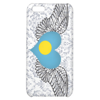 I Love Palau -wings Case For iPhone 5C