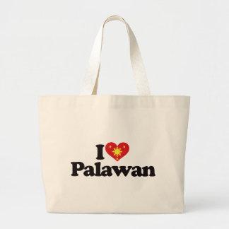 I Love Palawan Canvas Bags