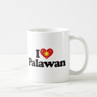 I Love Palawan Classic White Coffee Mug