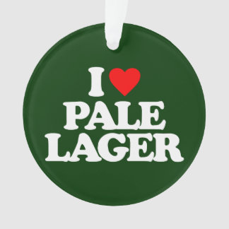 I LOVE PALE LAGER