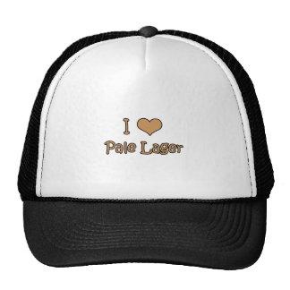I Love Pale Lager Trucker Hat