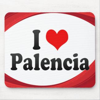 I Love Palencia, Spain Mouse Pad