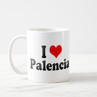 I Love Palencia, Spain Mug