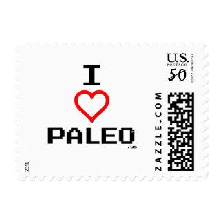 I Love Paleo Stamps