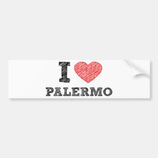 I love Palermo Car Bumper Sticker