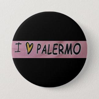 I love Palermo Design Pinback Button