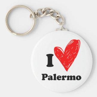 I Love Palermo Keychain
